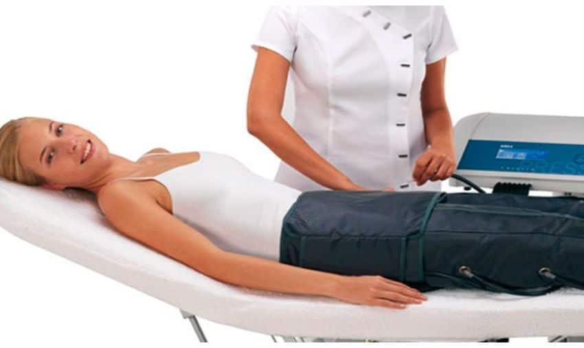 Tratamiento de aparatología presoterapia en Teruel