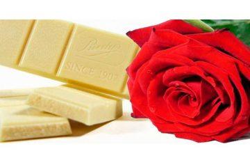 Ritual chocolate blanco-rosas. El despertar de los sentidos