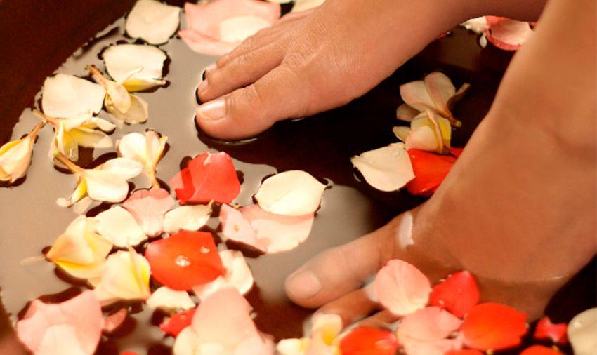 Tratamiento spa de manos y pies en Teruel
